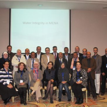 1st First Water Integrity Training Course for MENA Region – 14 to 15 January 2015, Dead Sea, Jordan.