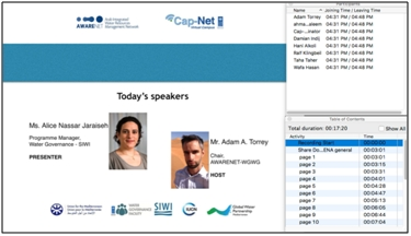 "Started: AWARENET E-Learning Series ""Water Integrity for Arab Countries"""
