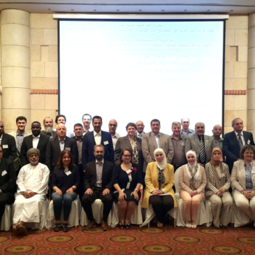 AWARENET participated in the workshop on Climate Change Adaptation in Human Settlements Using IWRM Tools, Amman, Jordan – 22-24 May 2016