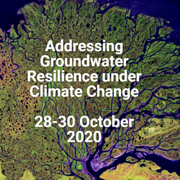 Addressing Groundwater Resilience under Climate Change Conference