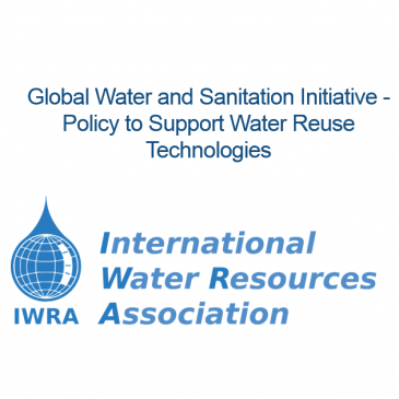 IWRA Webinar on Policy to Support Water Reuse Technologies